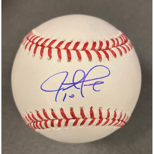 Photo of Justin Turner Authentic Autographed Baseball