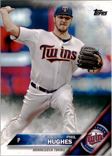 Photo of 2016 Topps #161 Phil Hughes