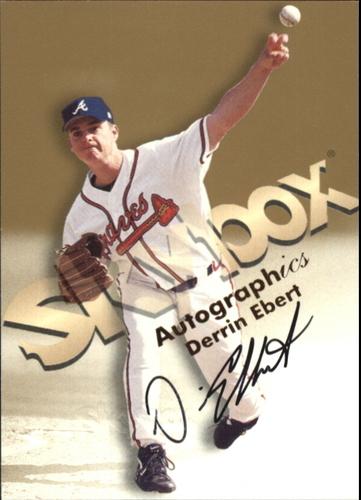 Photo of 1999 SkyBox Premium Autographics #15 Derrin Ebert