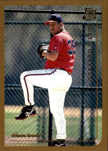 Photo of 1999 Topps Traded #T13 Ruben Quevedo RC