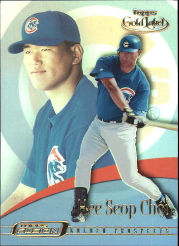 Photo of 2001 Topps Fusion #84 Hee Seop Choi GL RC