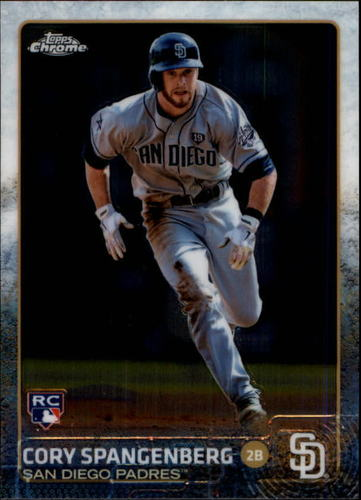 Photo of 2015 Topps Chrome #132 Cory Spangenberg RC