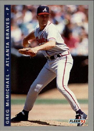 Photo of 1993 Fleer Final Edition #4 Greg McMichael RC