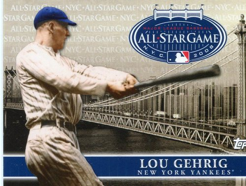 Photo of 2008 Topps All-Star FanFest #5 Lou Gehrig