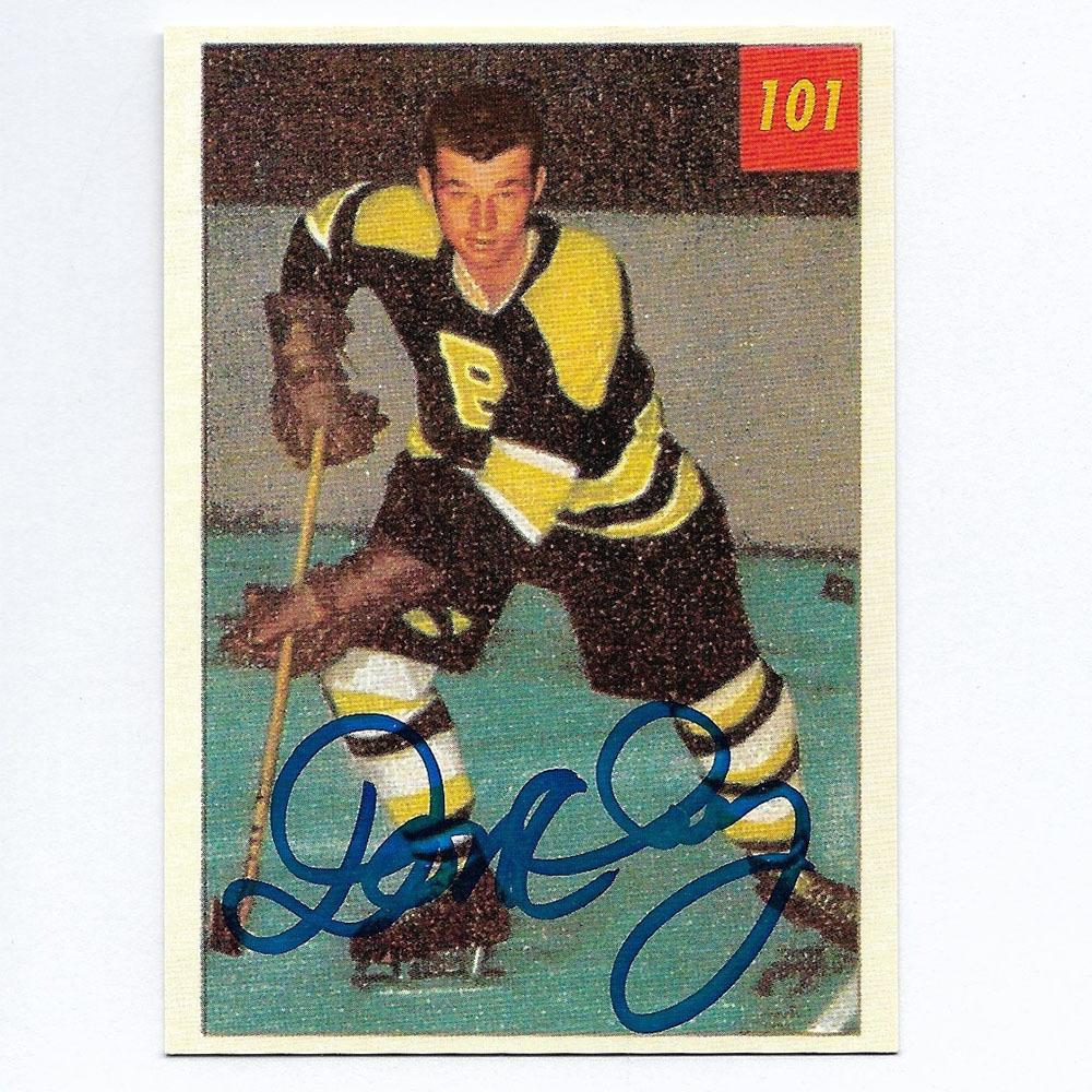 Don Cherry Autographed 1993 Parkhurst Parkies Hockey Card