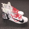 MY CAUSE MY CLEATS - FALCONS COURTNEY UPSHAW GAME WORN CUSTOM CLEATS (DECEMBER 3, 2017)