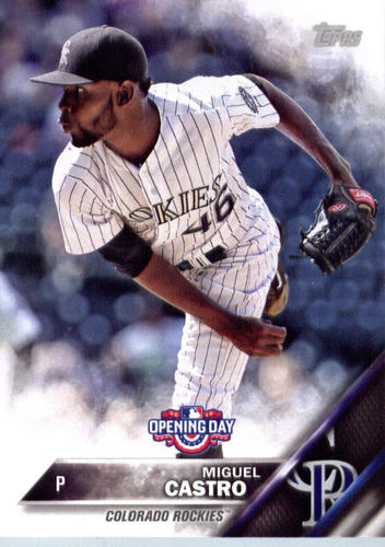 Photo of 2016 Topps Opening Day #OD173 Miguel Castro