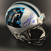 Panthers - Julius Peppers Signed Proline Helmet