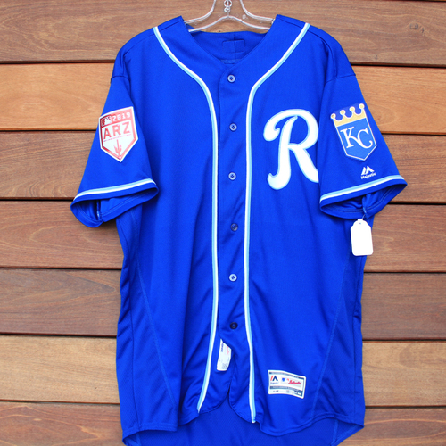 Photo of Team-Issued Spring Training Jersey: Kyle Zimmer (Size 48)