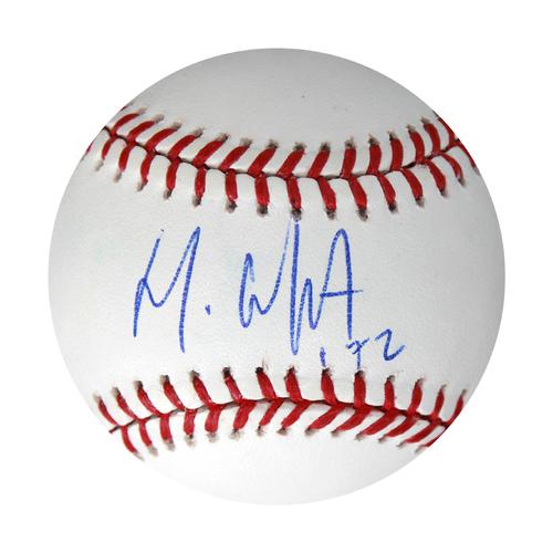 Photo of Autographed Baseball: Meibrys Viloria