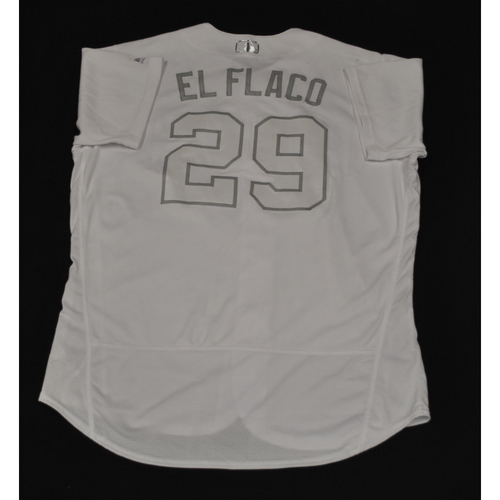 "Photo of Dinelson ""El Flaco"" Lamet San Diego Padres Game-Used 2019 Players' Weekend Jersey"
