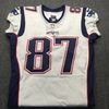 Crucial Catch - Patriots Rob Gronkowski Signed and Game used Jersey (11/12/17)