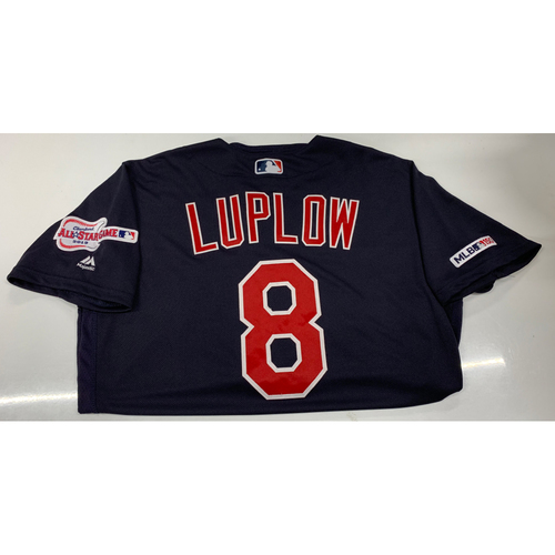 Photo of Jordan Luplow Game-Used Jersey - 9/24/19 @ CWS (3 Walks, 2 Runs)