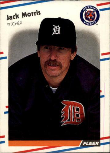 Photo of 1988 Fleer #64 Jack Morris