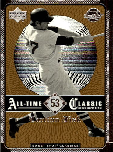 Photo of 2002 Sweet Spot Classics #53 Carlton Fisk