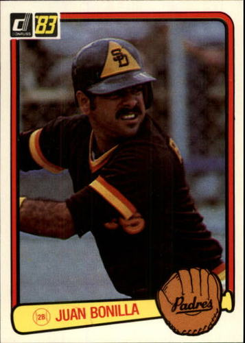 Photo of 1983 Donruss #346 Juan Bonilla