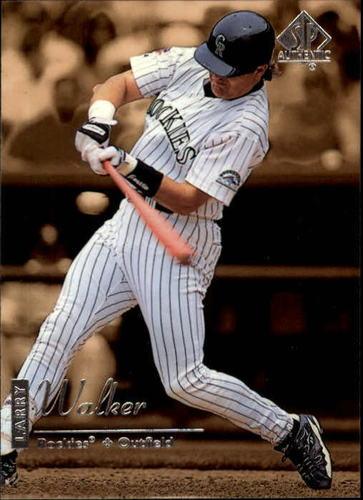 Photo of 1999 SP Authentic #31 Larry Walker