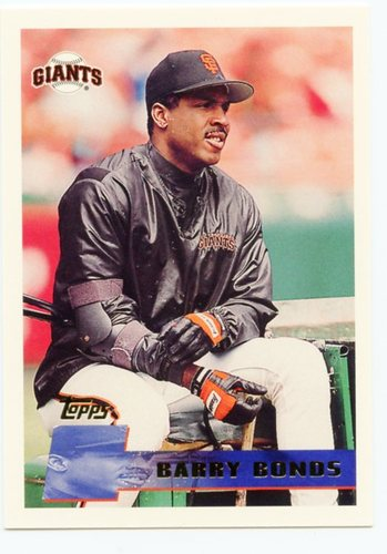 Photo of 1996 Topps Pre-Production #PP7 Barry Bonds