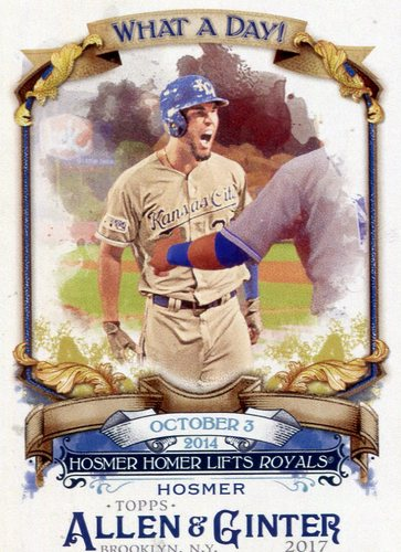 Photo of 2017 Topps Allen and Ginter What a Day #WAD41 Eric Hosmer