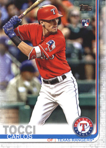 Photo of 2019 Topps #649 Carlos Tocci RC