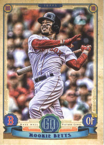 Photo of 2019 Topps Gypsy Queen #41 Mookie Betts