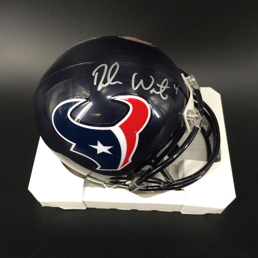 PCC - Texans Deshaun Watson Signed Mini Helmet