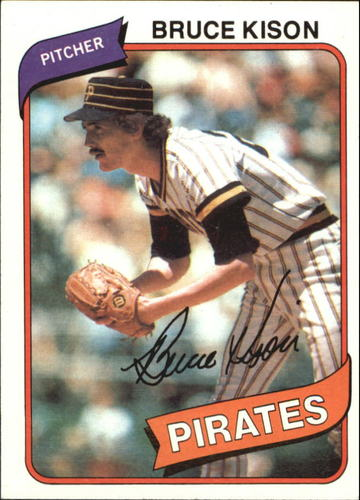 Photo of 1980 Topps #28 Bruce Kison