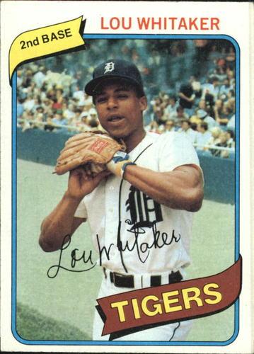 Photo of 1980 Topps #358 Lou Whitaker