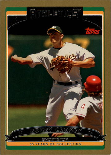 Photo of 2006 Topps Gold #448 Bobby Crosby