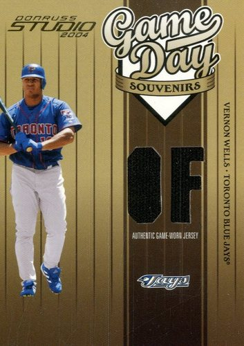 Photo of 2004 Studio Game Day Souvenirs Position #90 Vernon Wells Jsy/250