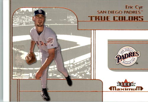 Photo of 2002 Fleer Maximum #227 Eric Cyr RTC