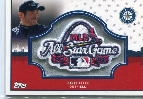 Photo of 2009 Topps All-Star FanFest Patch #3 Ichiro Suzuki -- Available only at 2009 FanFest