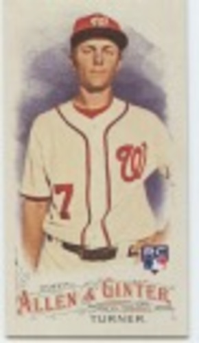 Photo of 2016 Topps Allen and Ginter Mini #342 Trea Turner