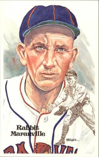 Photo of 1980-02 Perez-Steele Hall of Fame Postcards #72 Rabbit Maranville  -- HOF Class of 1954