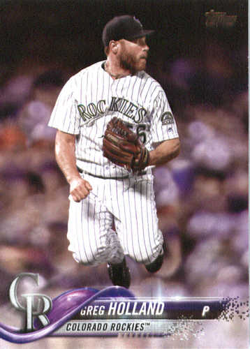 Photo of 2018 Topps #269 Greg Holland