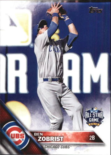 Photo of 2016 Topps Update #US50 Ben Zobrist AS