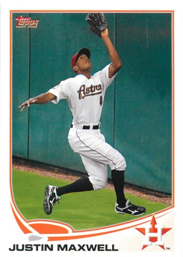 Photo of 2013 Topps #178 Justin Maxwell