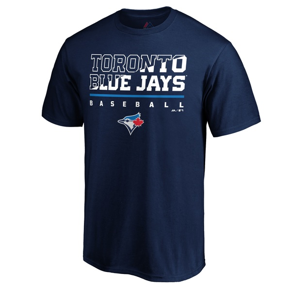 Toronto Blue Jays Power Slice T-Shirt by Majestic