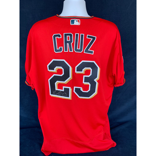 Photo of 2019 Twins Favorite Things Auction: Nelson Cruz Autographed 2019 Spring Training Jersey