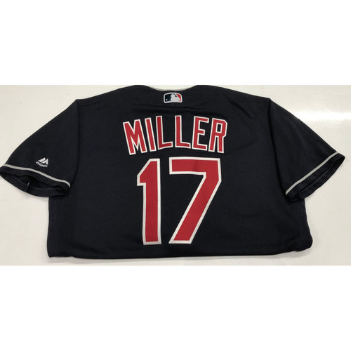 Photo of Brad Miller 2019 Team-Issued Navy jersey