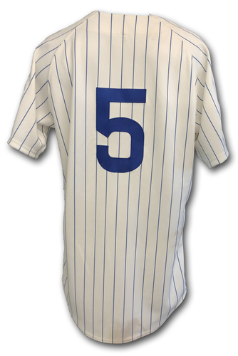Photo of Albert Almora Game-Used 1969 Uniform -- Reds vs. Cubs -- 7/16/19