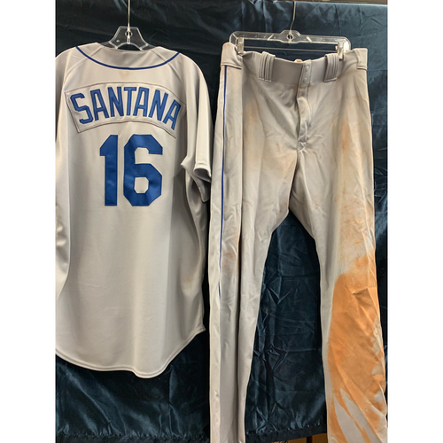 Photo of 2019 Turn-Back-The-Clock Domingo Santana Game-Used Uniform Package