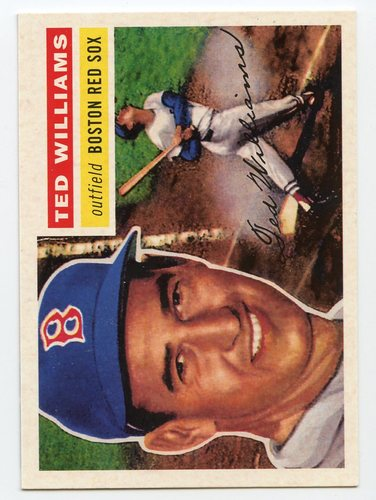 Photo of 2016 Topps Berger's Best Series 2 #BB21956 Ted Williams