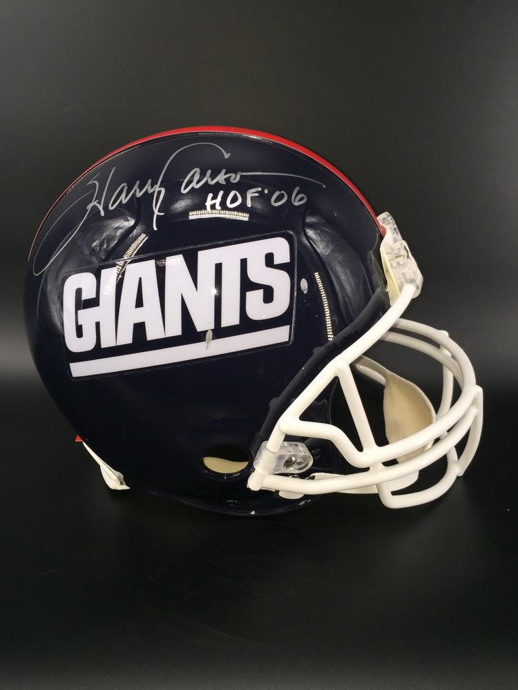 HOF - Giants Harry Carson Signed Proline Helmet