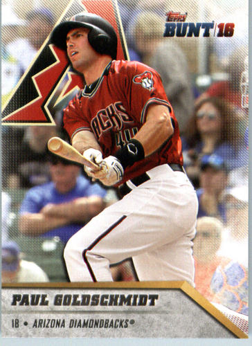 Photo of 2016 Topps Bunt #65 Paul Goldschmidt