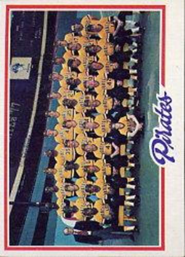 Photo of 1978 Topps #606 Pittsburgh Pirates CL