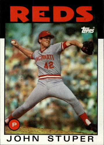 Photo of 1986 Topps #497 John Stuper