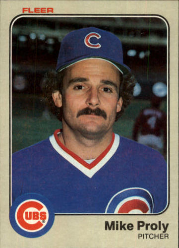 Photo of 1983 Fleer #505 Mike Proly
