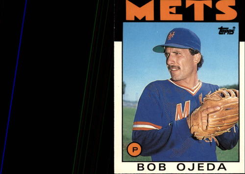 Photo of 1986 Topps Traded #81T Bob Ojeda