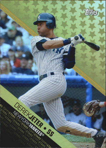 Photo of 2008 Topps Stars #TS11 Derek Jeter